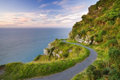 Valley of the Rocks footpath